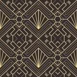 Картина 22 deco абстрактного искусства безшовная иллюстрация вектора