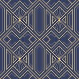 Картина 02 deco абстрактного искусства безшовная бесплатная иллюстрация