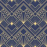 Картина 03 deco абстрактного искусства безшовная иллюстрация вектора