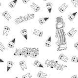 Картина Doodle медицинская Стоковое Изображение RF