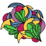 Картина, doodle Стоковые Фотографии RF