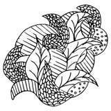 Картина, doodle Стоковое Изображение RF