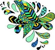 Картина Doodle Стоковая Фотография RF