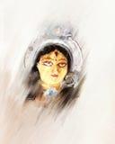 Картина Durga иллюстрация вектора