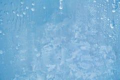Картина Frost на окне Стоковое Изображение RF