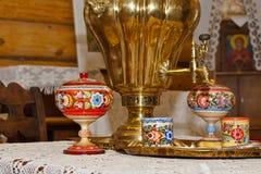 Картина Gorodets стоковая фотография