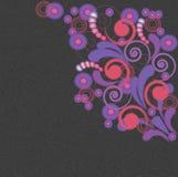 картина grunge предпосылки искусства флористическая Стоковые Фотографии RF