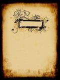 картина grunge предпосылки старая бумажная Стоковые Изображения RF
