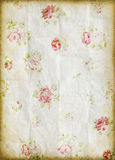 картина grunge цветка старая бумажная Стоковые Изображения