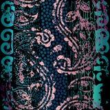 Картина Grunge этническая Стоковая Фотография