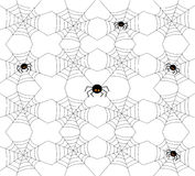 картина halloween безшовная также вектор иллюстрации притяжки corel Стоковые Изображения