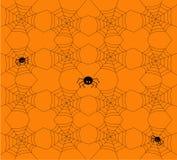 картина halloween безшовная также вектор иллюстрации притяжки corel Стоковая Фотография RF