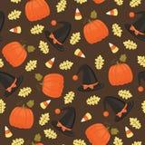 картина halloween безшовная Стоковые Фотографии RF
