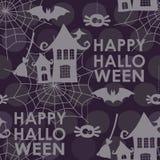 картина halloween безшовная Стоковые Изображения