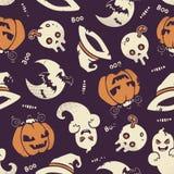 картина halloween безшовная Стоковая Фотография RF