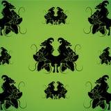 картина heraldry Стоковые Изображения