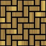 Картина i абстрактного paneling деревянная Стоковое Изображение