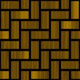Картина II абстрактного paneling деревянная Стоковая Фотография RF