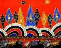 Картина II батика Малайзии Стоковые Изображения RF