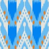 Картина Ikat безшовная как ткань, занавес, дизайн ткани, wallpa бесплатная иллюстрация