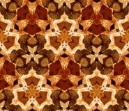 картина kaleidoscope безшовная Составленный форм конспекта цвета Стоковое фото RF