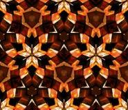 картина kaleidoscope безшовная Составленный форм конспекта цвета Стоковые Фото