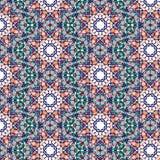 Картина Kaleidoscopic плитки безшовная Стоковая Фотография RF