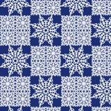 Картина Kaleidoscopic упаковочной бумаги безшовная Стоковое Фото