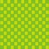 Картина Ketupat безшовная, Idul Fitri, зеленая предпосылка текстуры иллюстрация вектора