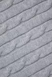 картина knit кабеля предпосылки Стоковая Фотография RF