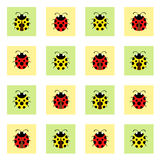Картина Ladybugs Стоковая Фотография RF
