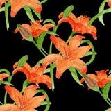Картина Lili безшовная Стоковые Изображения RF