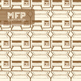 Картина Mfp безшовная Стоковые Фото