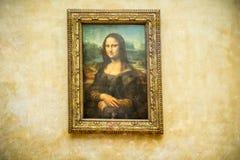 Картина Mona Лизы Стоковое фото RF