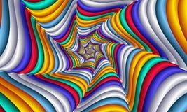 Картина Multicolor конспекта свирли праздничная яркая Геометрическая мозаика Большой для гобелена, ковра, одеяла, покрывала, ткан бесплатная иллюстрация