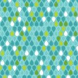Картина Multicolor дождевых капель безшовная Стоковое Изображение RF
