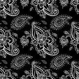 картина paisley безшовная Стоковое фото RF