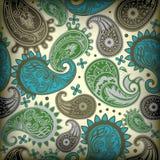 картина paisley Стоковое Изображение