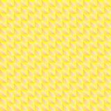 Картина Pyromidal желтых квадратов и striped оранжевых треугольников бесплатная иллюстрация
