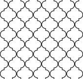 Картина Quatrefoil геометрическая безшовная Стоковая Фотография