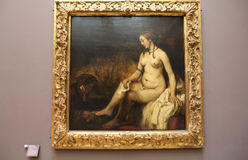 картина rembrandt Стоковое фото RF