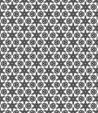 Картина Seamsless черно-белая Стоковые Изображения