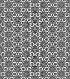 Картина Seamsless черно-белая Стоковые Изображения RF