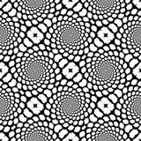 Картина snakeskin дизайна безшовная monochrome иллюстрация вектора
