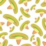Картина Sombrero безшовная бесплатная иллюстрация