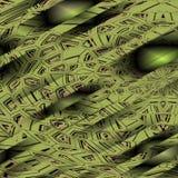 Картина striped зеленым цветом Стоковые Фото