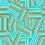 Картина striped конспектом безшовная Стоковые Изображения RF