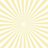 Картина Sunburst Солнця также вектор иллюстрации притяжки corel Стоковое Изображение