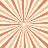 Картина Sunburst Солнця также вектор иллюстрации притяжки corel Стоковое Изображение RF