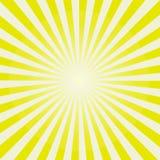 Картина Sunburst Солнця также вектор иллюстрации притяжки corel Стоковые Изображения